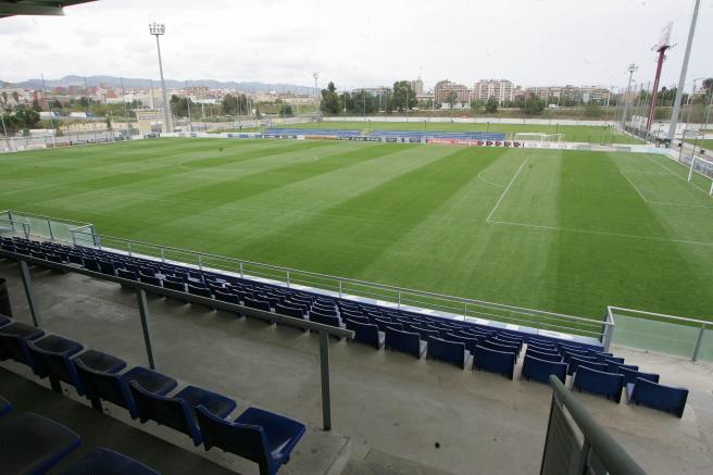 Ciudad deportiva Espanyol. Pochettino. Fútbol base
