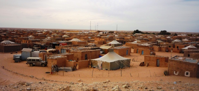 Tindouf. Sáhara Occidental. Campo refugiados. Argelia